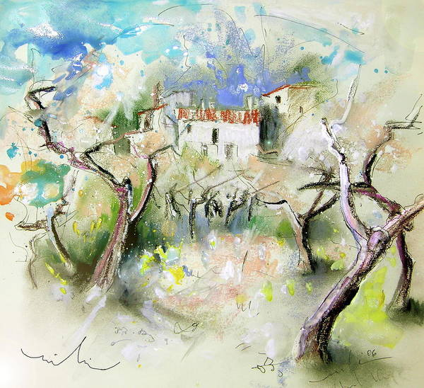 Wall Art - Painting - Altea La Vieja 06 by Miki De Goodaboom