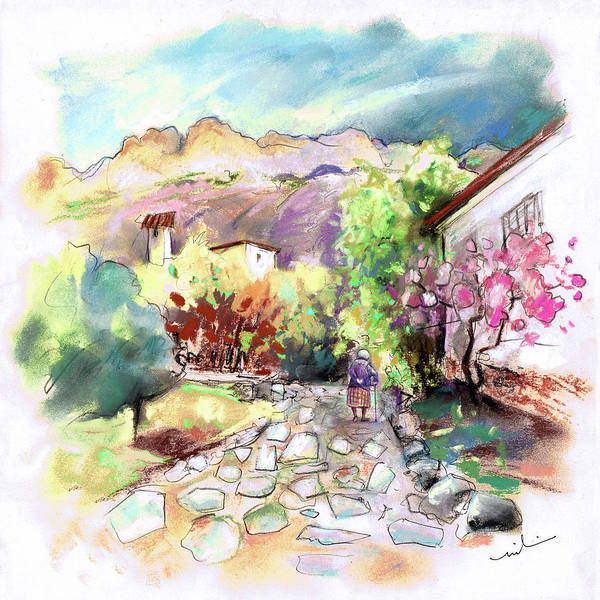Painting - Altea La Vieja 21 by Miki De Goodaboom
