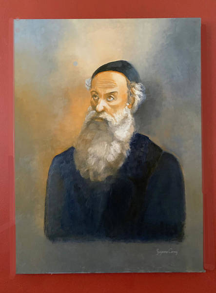 Painting - Alter Rebbe Schneur Zalman by Suzanne Cerny