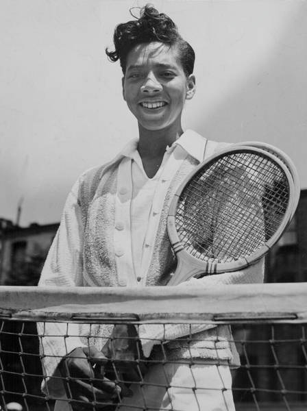 Court Photograph - Althea Gibson by Authenticated News