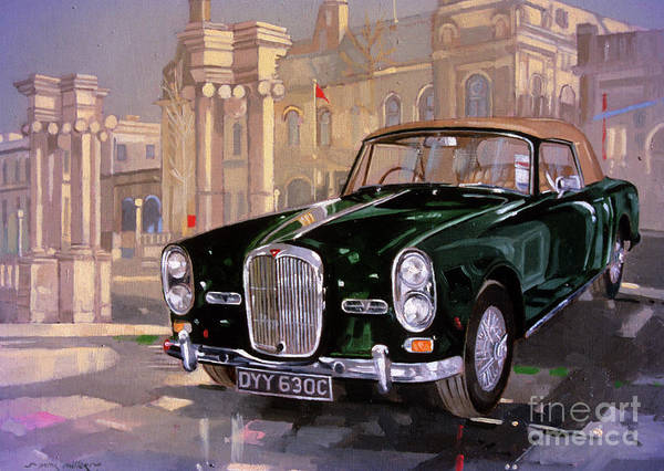 Wall Art - Painting - Alvis Tf 21 Southport by Peter Miller