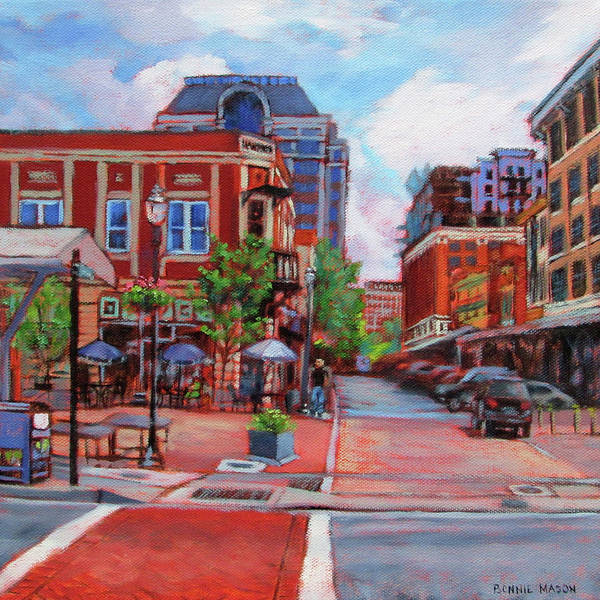 Roanoke Wall Art - Painting - Always Changing by Bonnie Mason