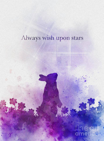 Wall Art - Mixed Media - Always Wish Upon Stars by My Inspiration