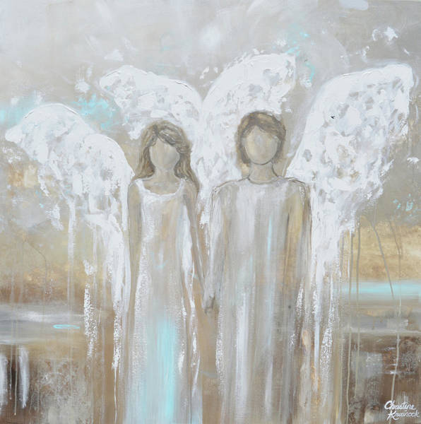 Wall Art - Painting - Always Yours by Christine Bell