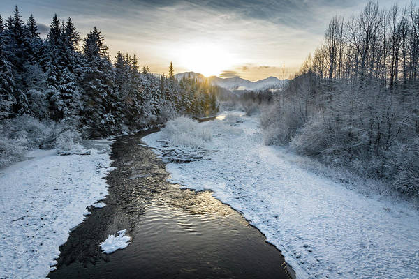 Photograph - Alyeska Sunset by Framing Places