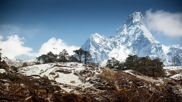 Indian Peaks Photograph - Ama Dablam by Presented By Zolashine