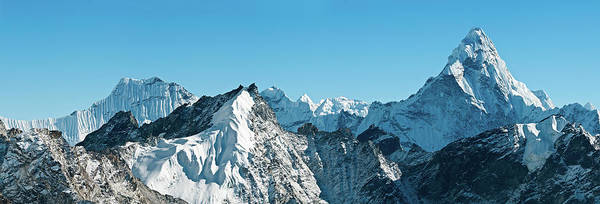 Wall Art - Photograph - Ama Dablam Snow Summit Spire Himalayas by Fotovoyager