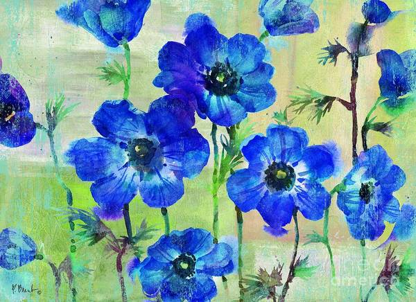 Wall Art - Painting - Amalfi Anemones by Paul Brent