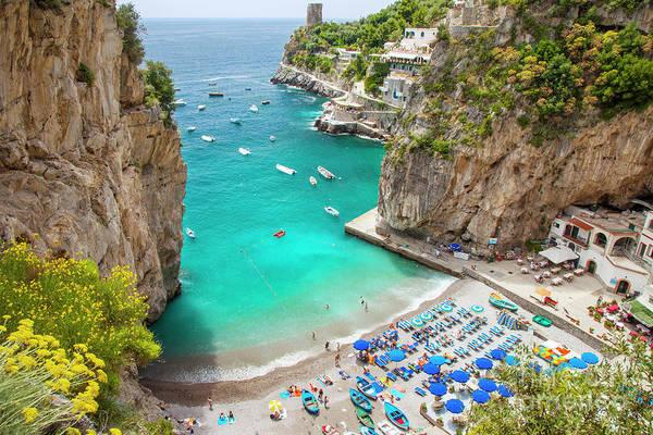 Photograph - Amalfi Coast Beach by Brian Jannsen