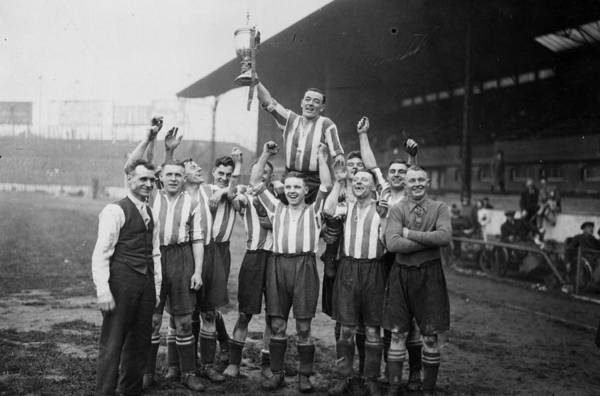 Stamford Photograph - Amateur Cup Win by J A Hampton