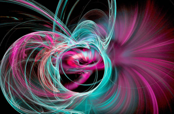 Digital Art - Amaze Yourself Blue by Don Northup