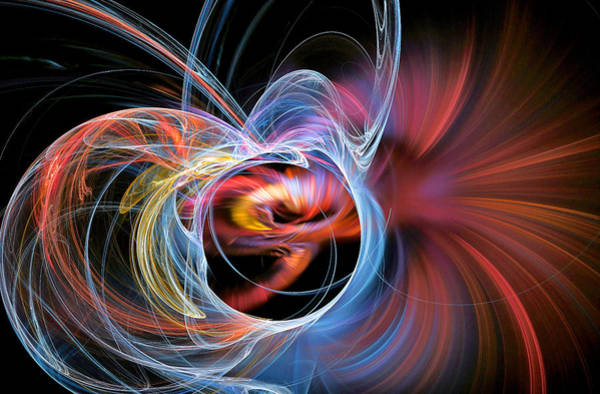 Digital Art - Amaze Yourself Colorful by Don Northup