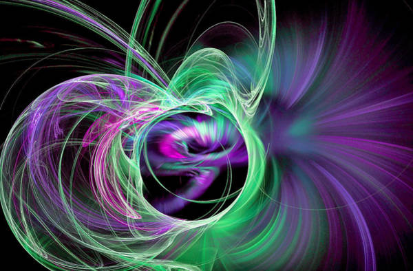 Digital Art - Amaze Yourself Green by Don Northup