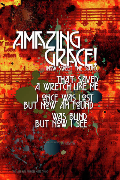 Digital Art - Amazing Grace by Chuck Mountain