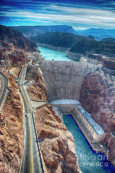 Photograph - Amazing Hoover Dam by Ken Johnson