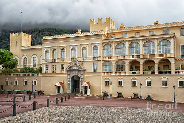 Wall Art - Photograph - Amazing Princes Palace Of Monaco by Wayne Moran