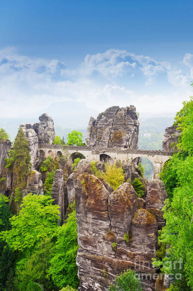 Wall Art - Photograph - Amazing View Of Bastei Bridge by Sergey Novikov