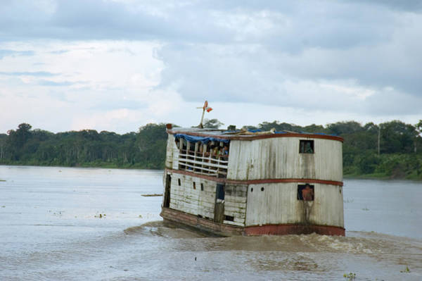 Wall Art - Photograph - Amazon Riverboat by Michael Lustbader