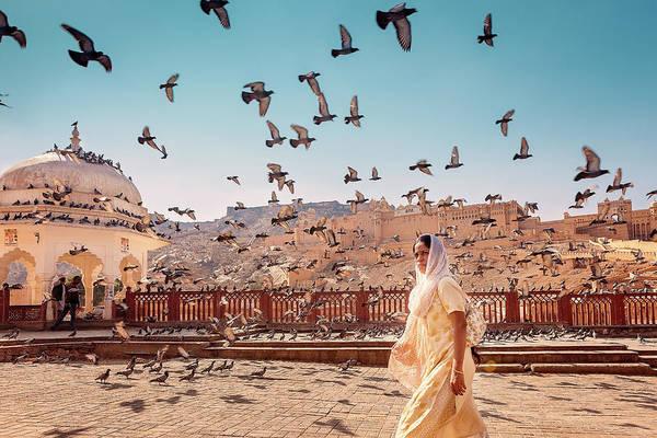 Photograph - Amber Fortress by Marji Lang