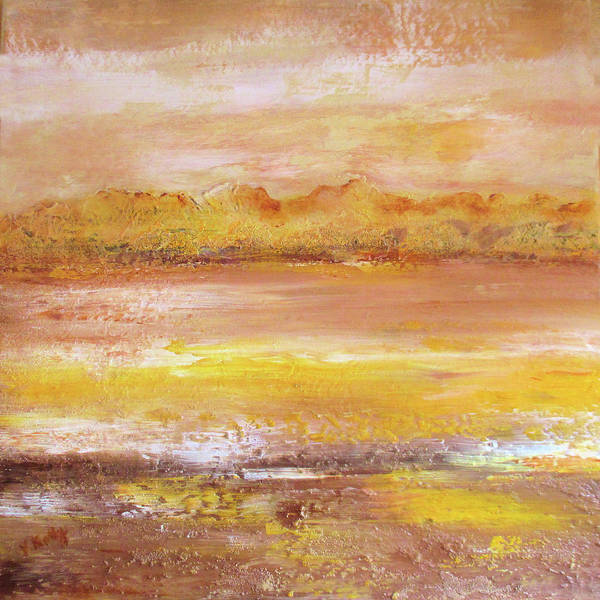 Painting - Amberlite By V.kelly by Valerie Anne Kelly
