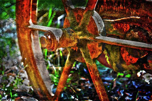 Photograph - Ambition Wheel by Randi Grace Nilsberg