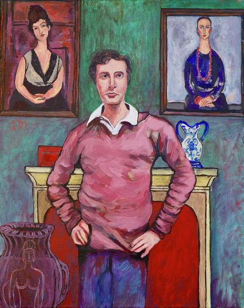 Painting - Amedeo Modigliani by Tom Roderick