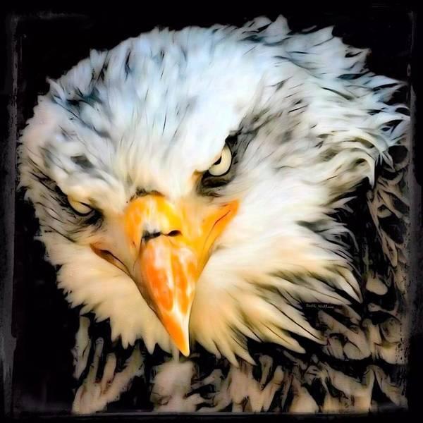 Digital Art - American Bald Eagle by Scott Wallace Digital Designs