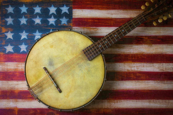 Wall Art - Photograph - American Banjo by Garry Gay