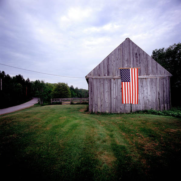 Freedom Photograph - American Barn by Jeff Corwin