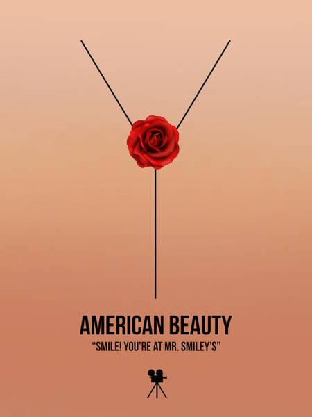 Wall Art - Digital Art - American Beauty by Naxart Studio