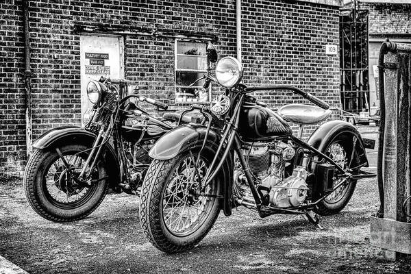 Wall Art - Photograph - American Classics Monochrome by Tim Gainey