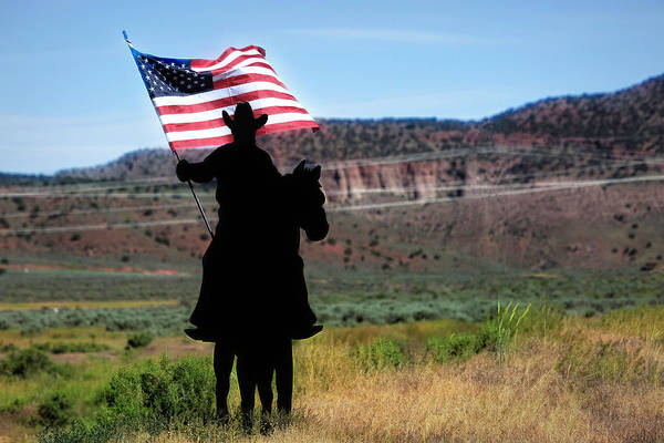 Photograph - American Cowboy by Donna Kennedy