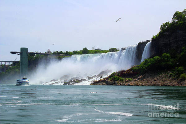 Photograph - American Falls - 12 by Doc Braham