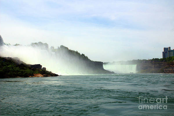 Photograph - American Falls Showing The Horseshoe Falls by Doc Braham