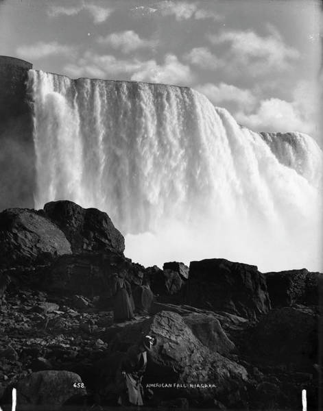 Vertical Landscape Photograph - American Falls by The New York Historical Society