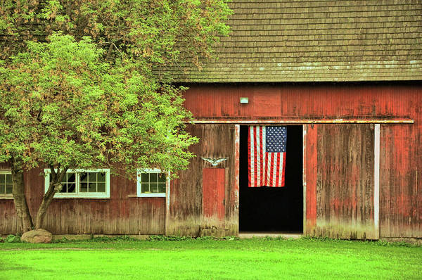 Photograph - American Farm by JAMART Photography