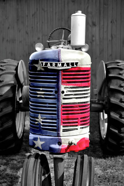 Wall Art - Photograph - American Farmall by Luke Moore