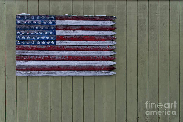Wall Art - Photograph - American Flag In Leland by Twenty Two North Photography