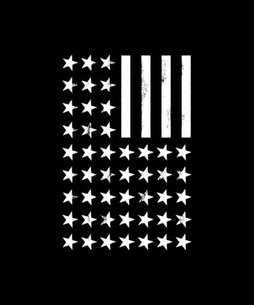 War Bonds Digital Art - American Flag Mens All Sizes Available Stripes And Stars America Pride Patriot Usa Sniper Flag Bald  by Ashton Kellett