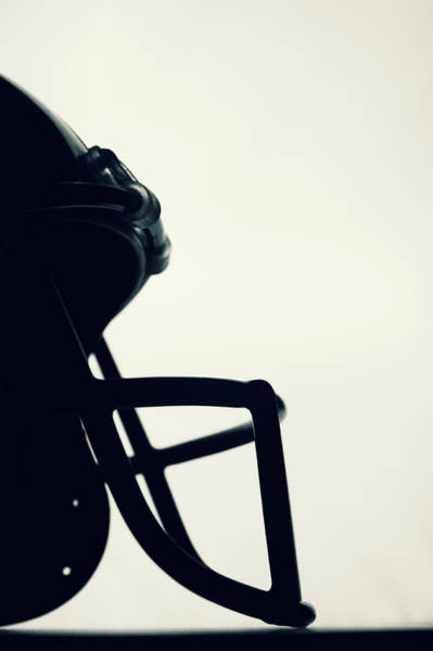 Football Helmet Photograph - American Football Helmet by Schulteproductions