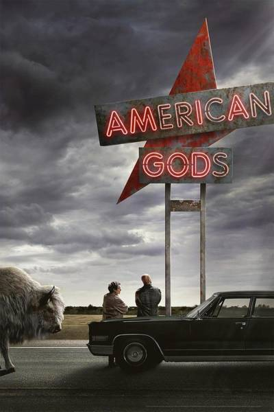 Wall Art - Digital Art - American Gods by Geek N Rock