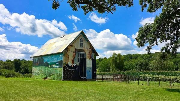 Photograph - American Gothic Barn by Dan Miller