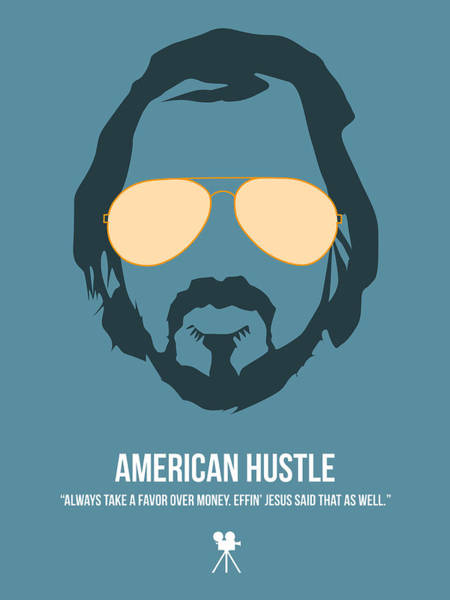 Wall Art - Digital Art - American Hustle by Naxart Studio