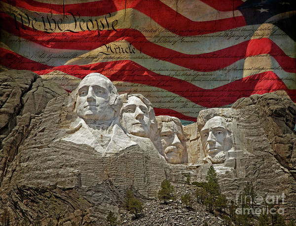 Wall Art - Photograph - American Presidents by John Stephens