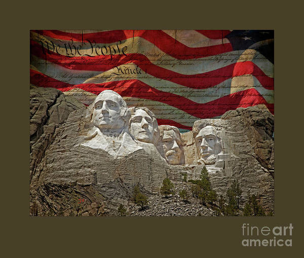 Wall Art - Photograph - American Presidents Poster by John Stephens