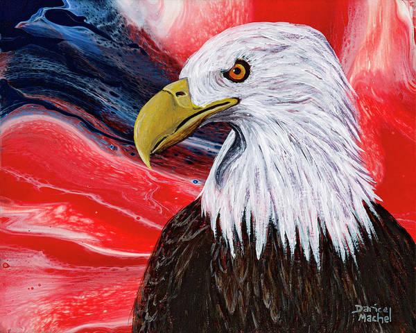 Painting - American Pride by Darice Machel McGuire