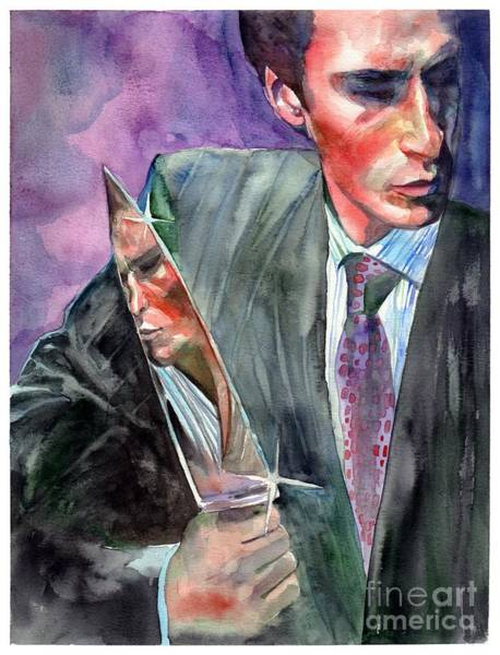 Wall Art - Painting - American Psycho Painting by Suzann Sines