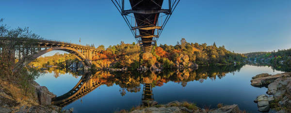 Photograph - American River Panorama by Jonathan Hansen