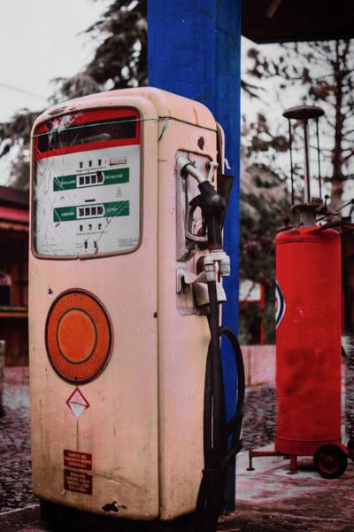 Photograph - Americana Roadhouse Gas Pump by Doc Braham