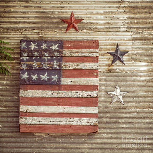 Photograph - Americana Stars And Stripes  by Imagery by Charly